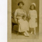 Grandmother Irene Morris Johnson and Great Aunt Jospehine Morris Rayford circa 1909