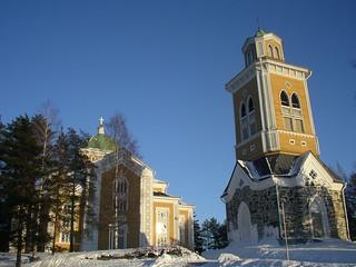 Kerimäki church. Finland.