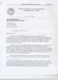 FCC citation p1 | by jennylc