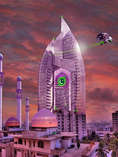 The New Lahore Skycity Pakistani Starfleet Headquarters