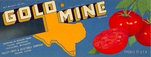 Gold Mine Tomatoes | by Tru-Tex Antique Prints