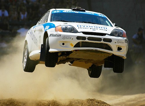 X Games Rally Car Racing | by Eric Wolfe