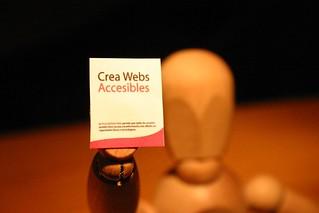 Webs Accesibles / Maniqui de madera