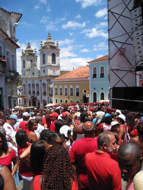 feast of Santa Bárbara (Yansã)