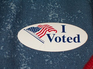 I Voted Sticker | by programwitch