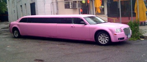 Ugly pink limo | by madmiked