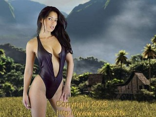 View3d.tv supermodel shoot in Bali | by view3d.tv