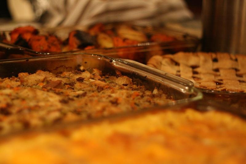 Potluck Thanksgivings Rule!