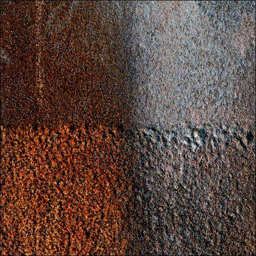 squared rust