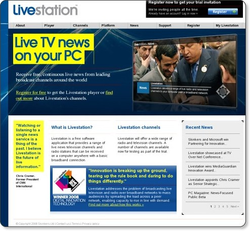 Livestation | Interactive live TV on your computer that wo… | Flickr