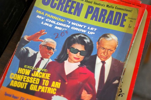 Screen Parade: How Jackie confessed to Ari about Gilpatric   by fortinbras