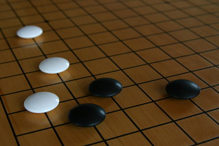 Joseki on a Go board | by donmarco_1976