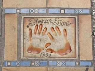 Sharon Stones Hands