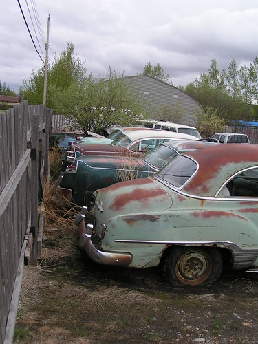 Rusty Car Storage | by dave_7