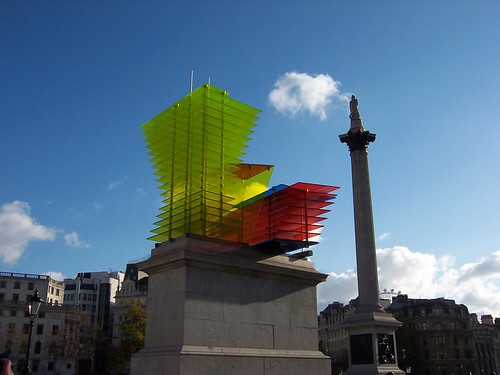 'Model For a Hotel' 2007, Thomas Schütte, Trafalgar Square Fourth Plinth | by Loz Flowers