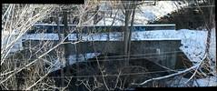 Old Bayview Avenue bridge panorama