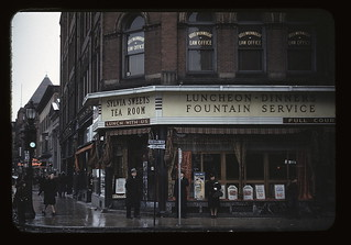 [Sylvia Sweets Tea Room, corner of School and Main streets, Brockton, Mass.]  (LOC) | by The Library of Congress
