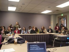 the Research-to-Practice Discussion Group on Gaming, Literacy, and Libraries | by The Shifted Librarian