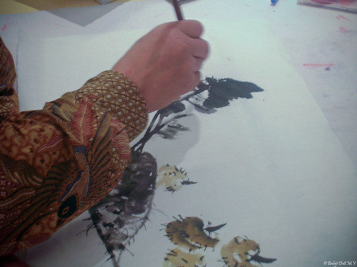Artist at work | by Balaji Dutt