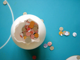 whoo-hoo! confetti eggs! | by jessica wilson {jek in the box}