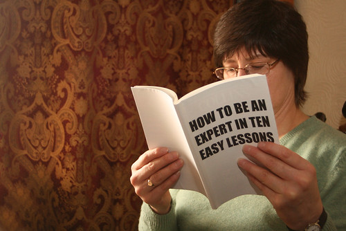 How to be an expert | by Alan Cleaver
