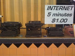 Internet, 5 minutes, $1.00 | by erisfree