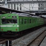 103系(黄緑) おおさか東線試運転@放出