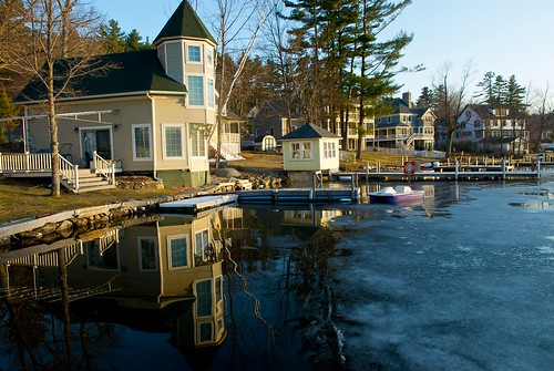 sunset lake ice time newhampshire 1755mmf28g sunapee lakesunapee sunapeeharbor photospecs