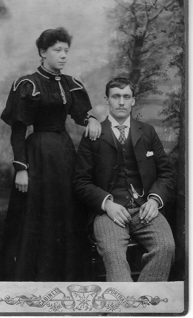 Great Gran and grandad Baldock
