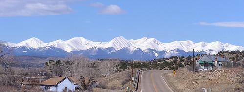 snow landscape colorado scenic co rockymountains 14ers fourteeners sangredecristos highwayoflegends culebrapeak thirteeners 13ers
