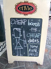 Cheap Booze for Cheap Dates | by urbanshoregirl