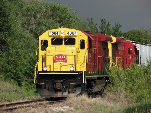 railroad oklahoma train rail locomotive s3 2007 aok 4064 4059