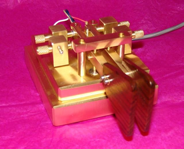 K8RA Model P-4 Iambic Morse Paddle Key   Rick Zolla   Flickr