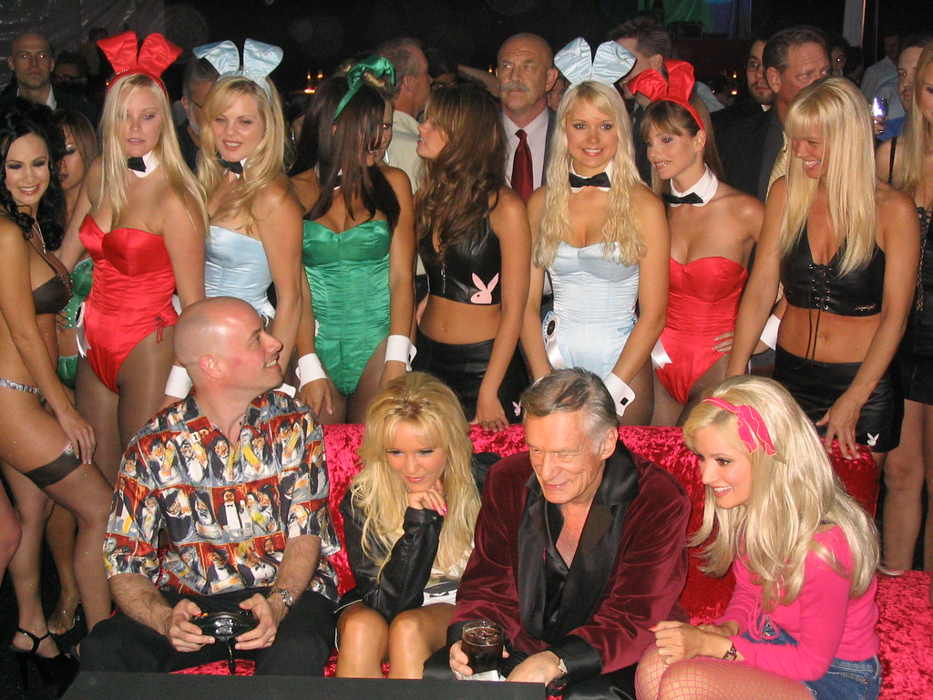 Former playboy bunny reveals what parties