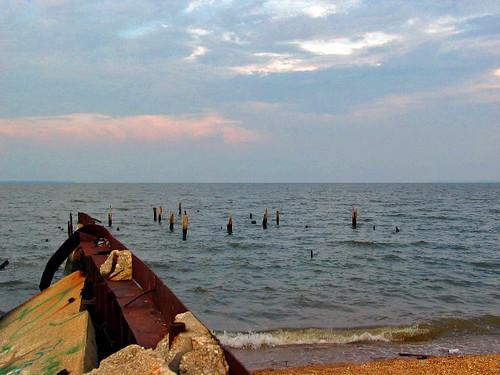 sunset water virginia va potomacriver colonialbeach westmorelandcounty