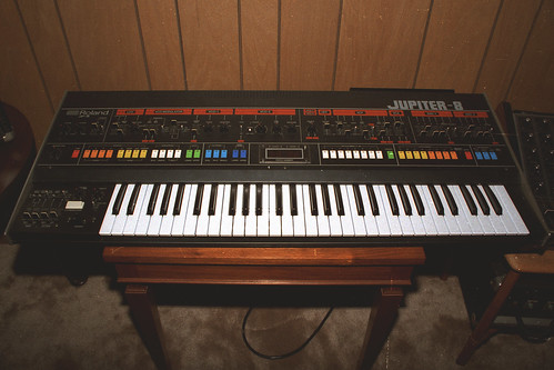 Roland Jupiter-8 Synth, 1983   by euthman