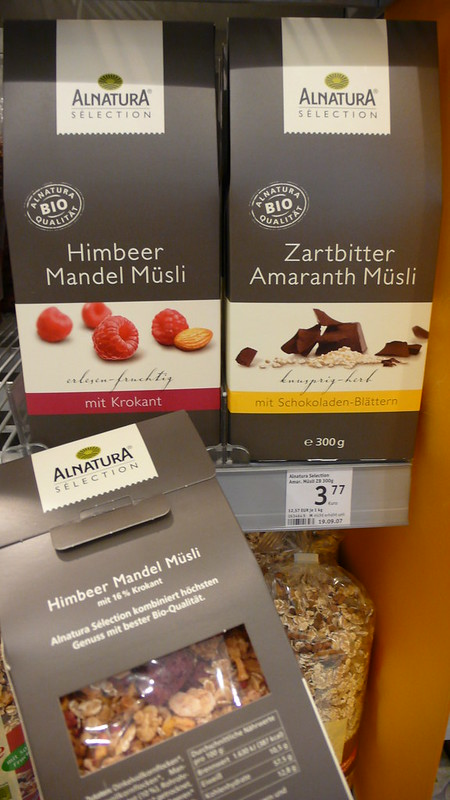 some awesome muesli packaging