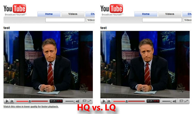High Quality vs  Low Quality Video on YouTube | Quality diff