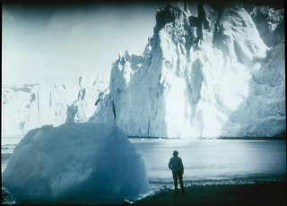 Face of the Neumeyer Glacier, 1915 / by Frank Hurley | by State Library of New South Wales collection
