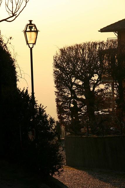 Lamp in Montevecchia