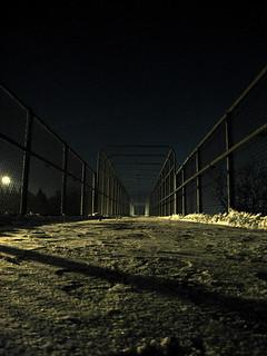 Snowy Foot Bridge