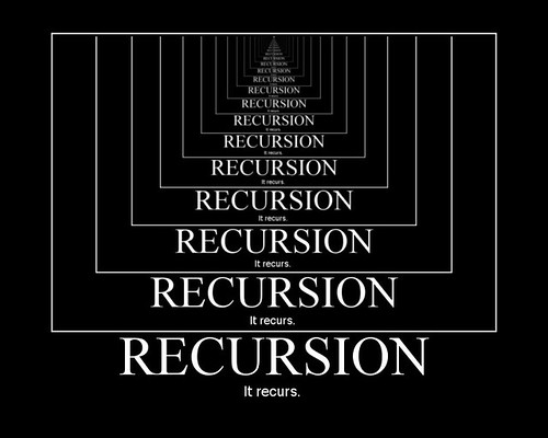 Recursion: It recurs. | by ▓▒░ TORLEY ░▒▓