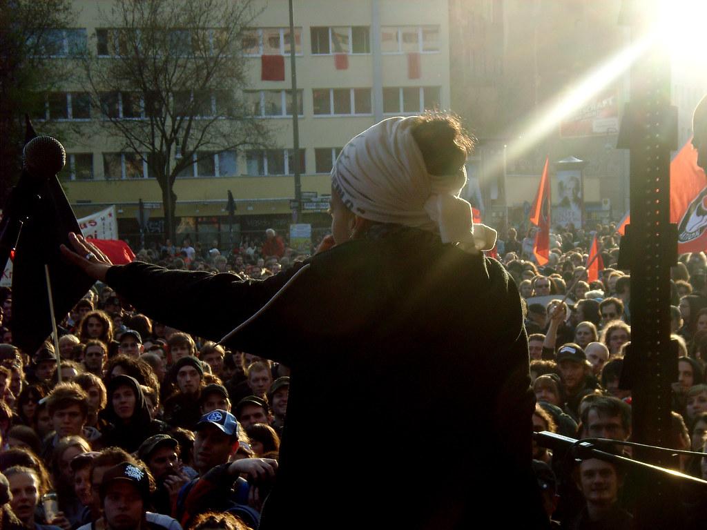 Keny Arkana 1mai Berlin Kreuzberg Seven Resist Flickr