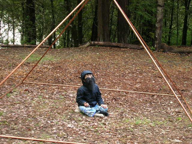 copper Pyramid connectors | Greetings, Here is Zamtu meditat… | Flickr