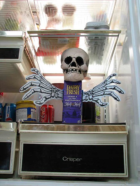Image result for haunted refrigerator night