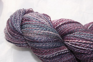 Spunky Eclectic merino/silk in Thunderstorm | by mygomi