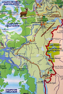 Mapa Sur De Chile.Carretera Austral Mapa Del Sur De La Region De Aysen Chi Flickr