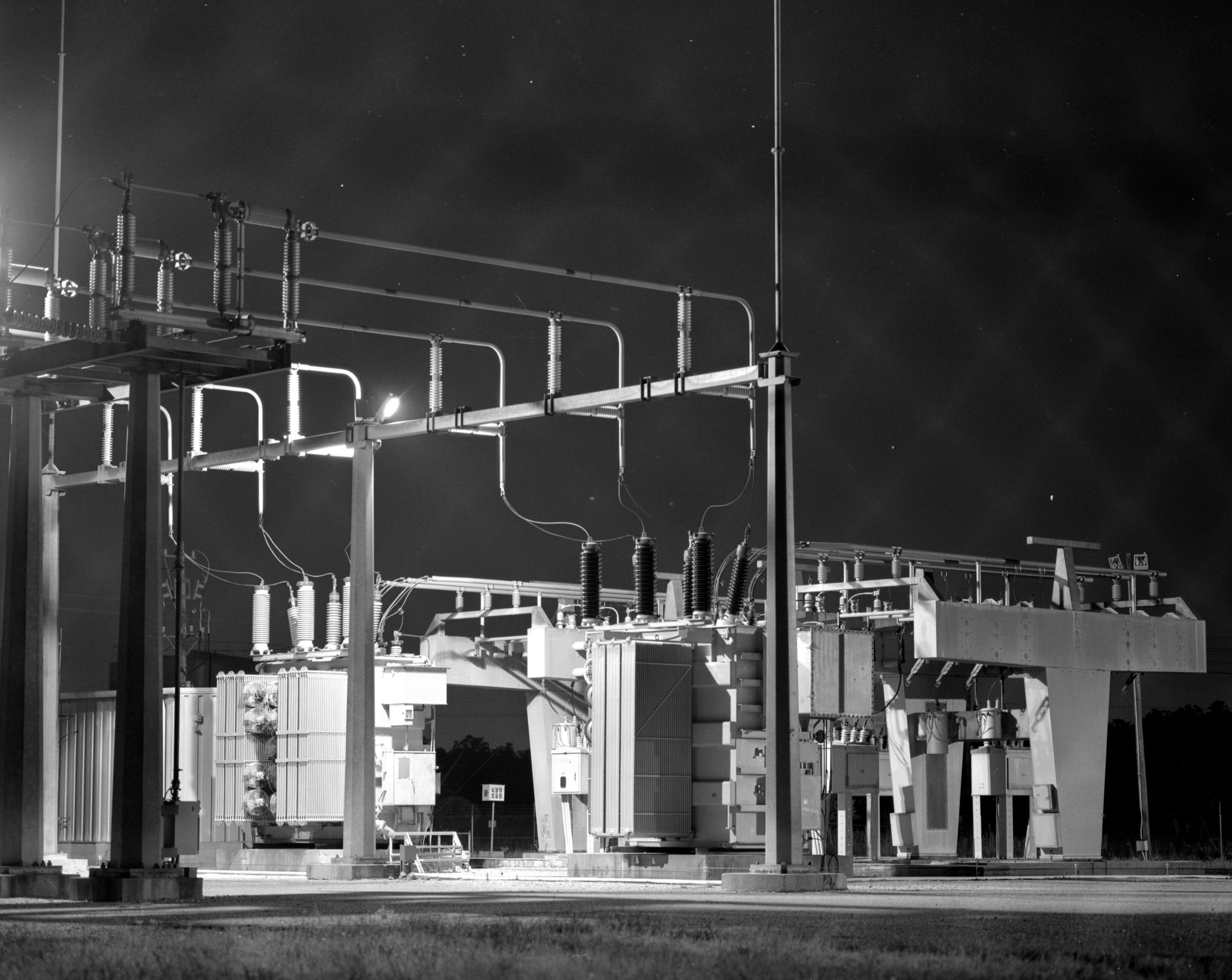 substation chainlink on Flickr