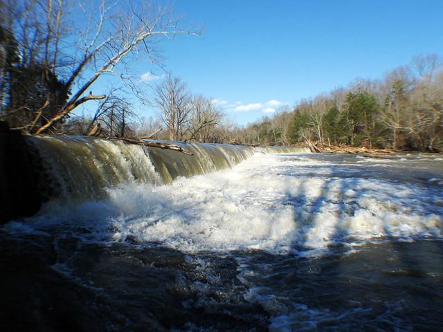 T&A Electric Company dam, Calfkiller River, White County, TN