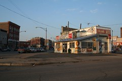 Pilsen hot dog stand | by repowers